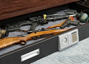 What-is-the-best-way-to-store-guns-without-a-safe