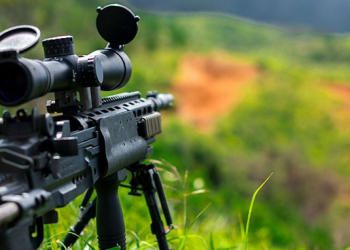 What do the numbers mean on a rifle scope