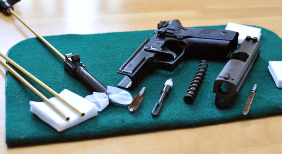 Which Items Necessary to Clean a Gun