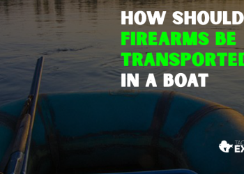How Should Firearms Be Transported in a Boat