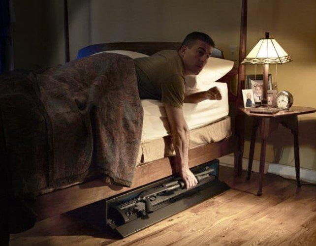 Where to Install A Bedside Gun Safe?