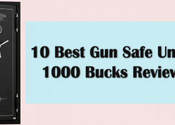 10 Best Gun Safe Under 1000 Bucks Reviews