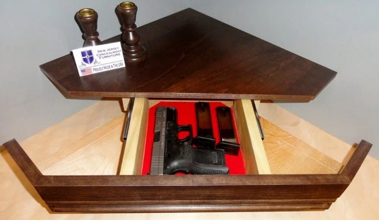 Corner Gun Safe